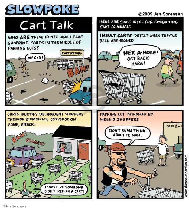 Cartoonist Jen Sorensen  Jen Sorensen's Editorial Cartoons 2009-09-21 parking lot