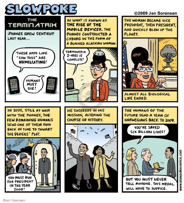 Cartoonist Jen Sorensen  Jen Sorensen's Editorial Cartoons 2009-10-26 Sarah