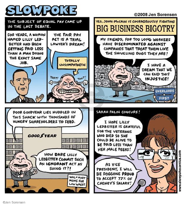 Cartoonist Jen Sorensen  Jen Sorensen's Editorial Cartoons 2008-11-17 2008 election