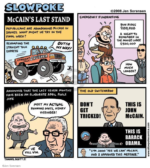 Cartoonist Jen Sorensen  Jen Sorensen's Editorial Cartoons 2008-11-24 Sarah