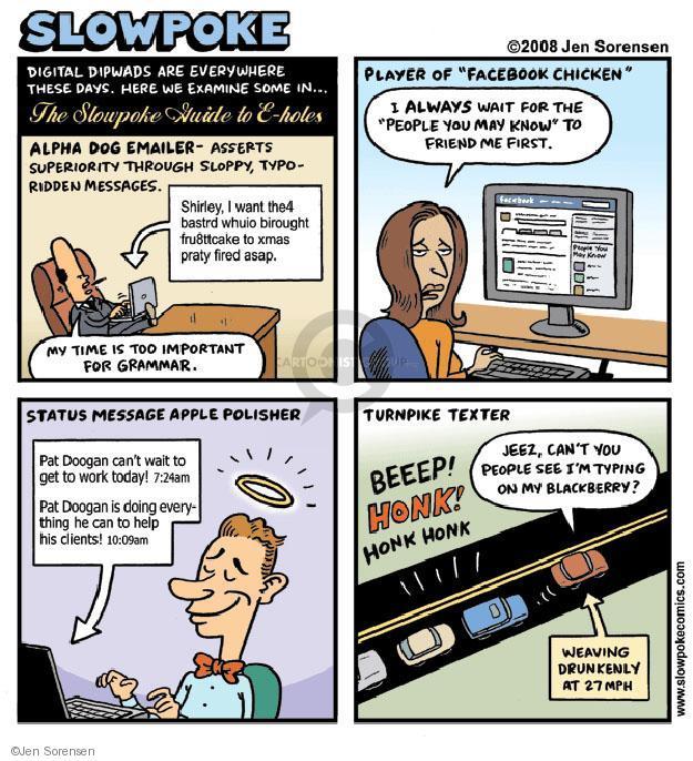 Cartoonist Jen Sorensen  Jen Sorensen's Editorial Cartoons 2008-12-29 Facebook