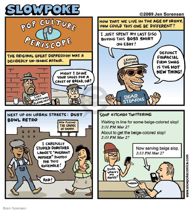 Cartoonist Jen Sorensen  Jen Sorensen's Editorial Cartoons 2009-03-30 line