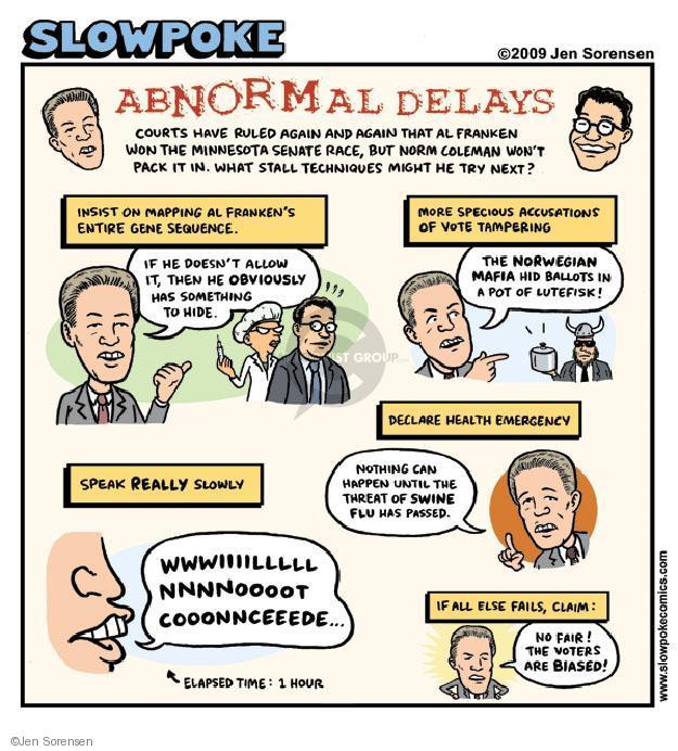 Jen Sorensen  Jen Sorensen's Editorial Cartoons 2009-05-18 sequence