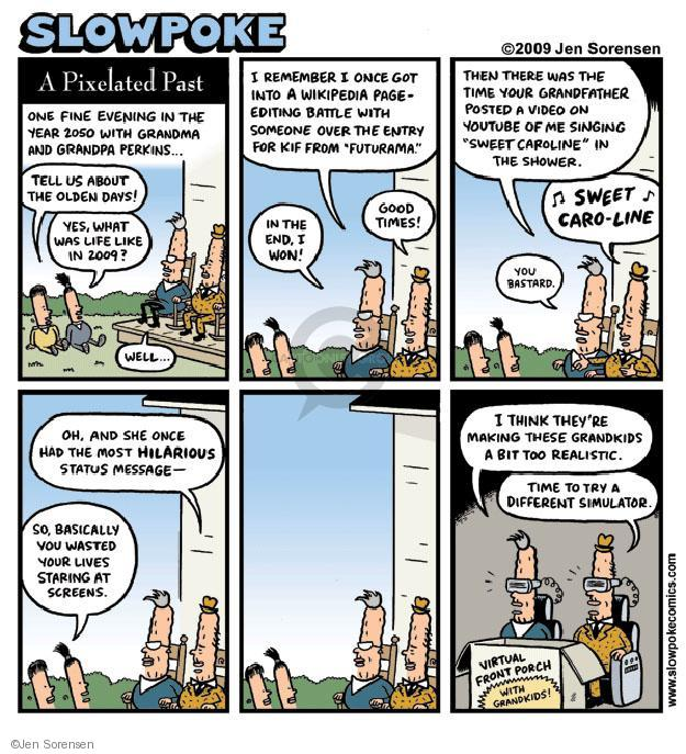 Cartoonist Jen Sorensen  Jen Sorensen's Editorial Cartoons 2009-06-01 remember