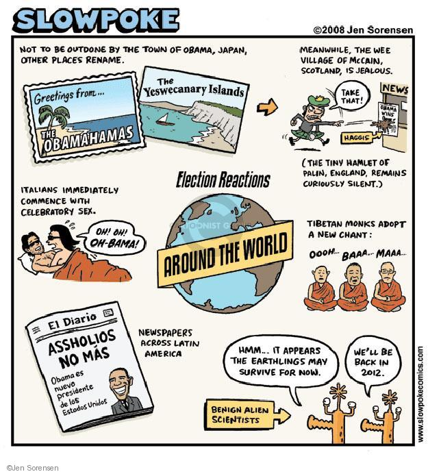 Cartoonist Jen Sorensen  Jen Sorensen's Editorial Cartoons 2009-12-01 2008 election