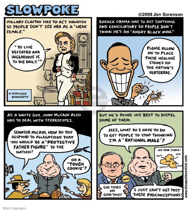 Cartoonist Jen Sorensen  Jen Sorensen's Editorial Cartoons 2008-05-19 2008 election