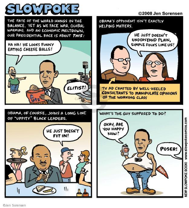 Cartoonist Jen Sorensen  Jen Sorensen's Editorial Cartoons 2008-06-16 2008 election