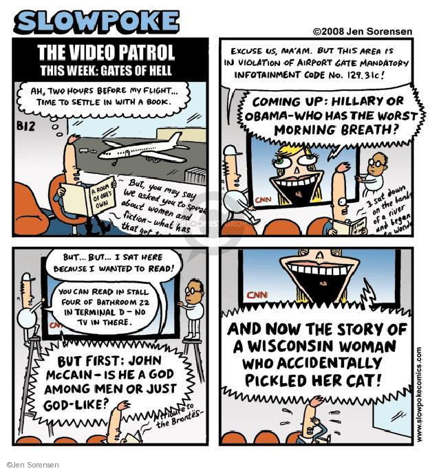 Cartoonist Jen Sorensen  Jen Sorensen's Editorial Cartoons 2008-06-23 2008 election