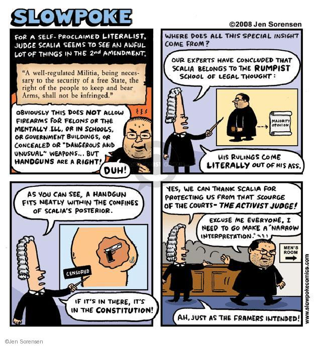 Cartoonist Jen Sorensen  Jen Sorensen's Editorial Cartoons 2008-08-11 majority