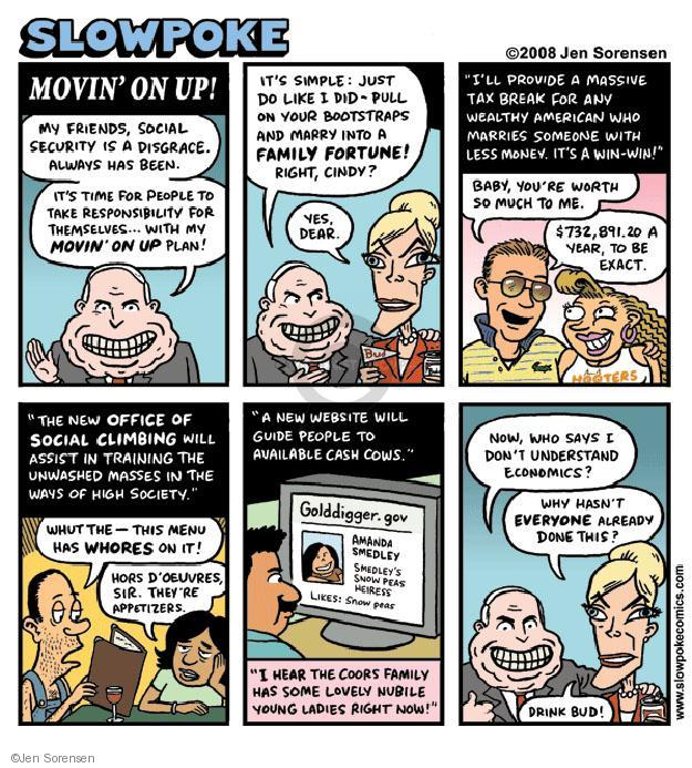 Cartoonist Jen Sorensen  Jen Sorensen's Editorial Cartoons 2008-08-25 2008 election