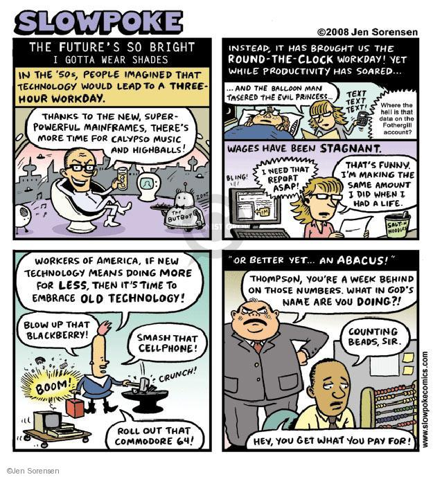 Jen Sorensen  Jen Sorensen's Editorial Cartoons 2008-01-01 working man