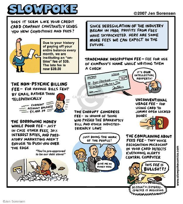 Cartoonist Jen Sorensen  Jen Sorensen's Editorial Cartoons 2007-01-01 door