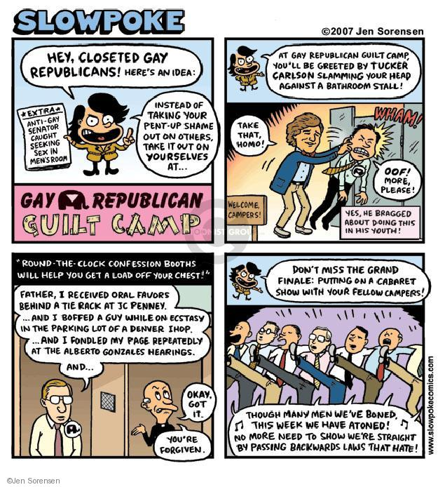 Cartoonist Jen Sorensen  Jen Sorensen's Editorial Cartoons 2007-01-01 camp