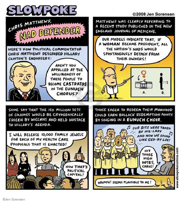 Jen Sorensen  Jen Sorensen's Editorial Cartoons 2008-01-01 England