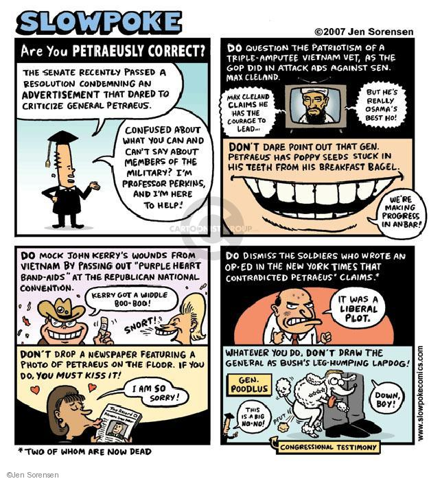 Cartoonist Jen Sorensen  Jen Sorensen's Editorial Cartoons 2007-01-01 convention