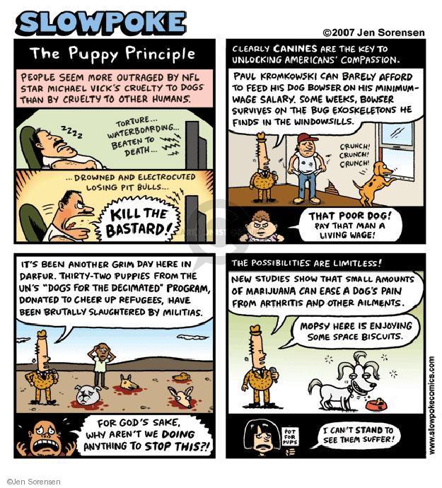 Jen Sorensen  Jen Sorensen's Editorial Cartoons 2007-01-01 cruelty
