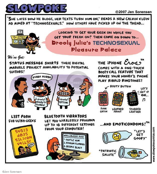Jen Sorensen  Jen Sorensen's Editorial Cartoons 2007-01-01 trend