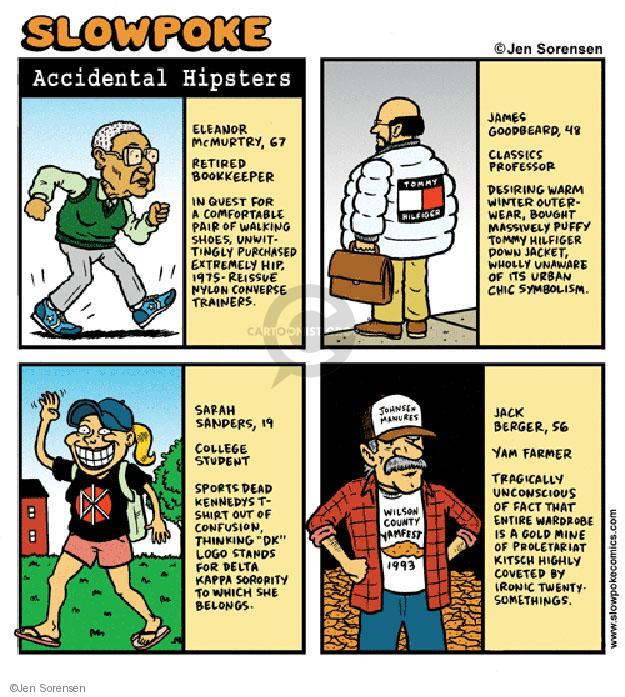 Cartoonist Jen Sorensen  Jen Sorensen's Editorial Cartoons 2002-01-01 Sarah
