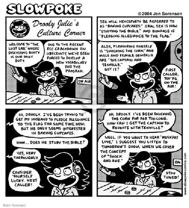 Jen Sorensen  Jen Sorensen's Editorial Cartoons 2004-01-01 obscenity