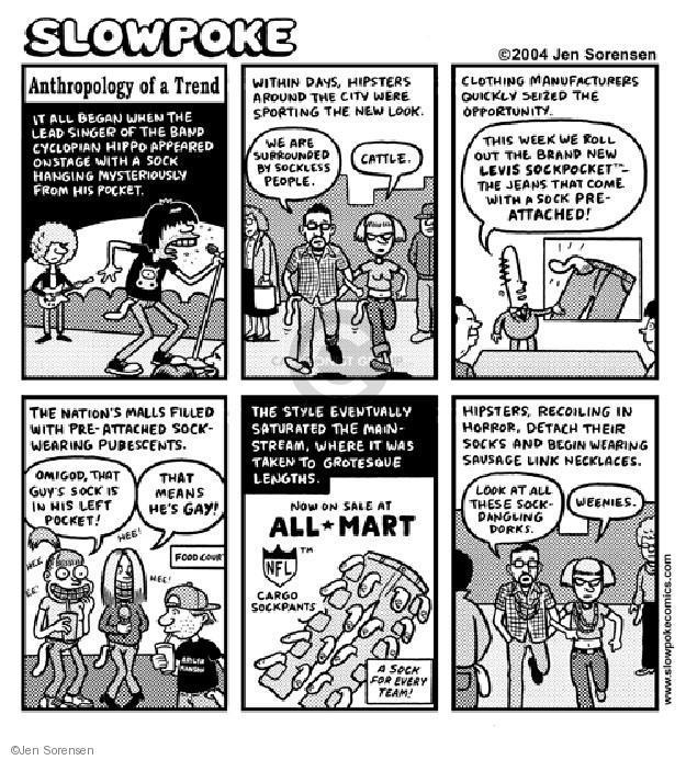 Cartoonist Jen Sorensen  Jen Sorensen's Editorial Cartoons 2004-01-01 lookout