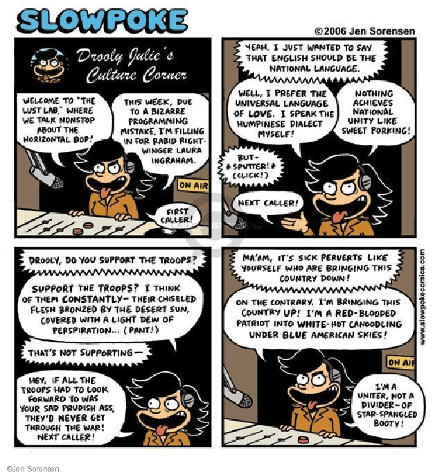 Cartoonist Jen Sorensen  Jen Sorensen's Editorial Cartoons 2006-01-01 unity