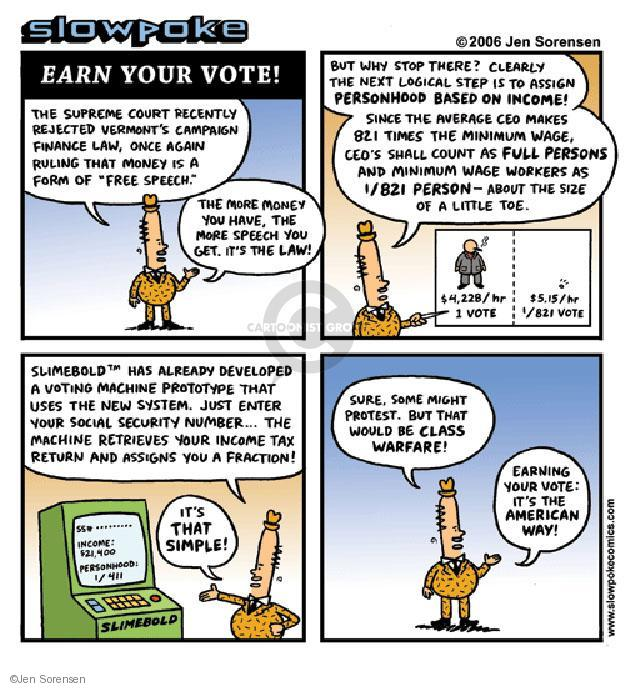 Cartoonist Jen Sorensen  Jen Sorensen's Editorial Cartoons 2006-01-01 security system