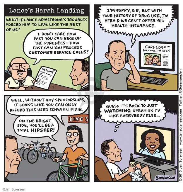 Cartoonist Jen Sorensen  Jen Sorensen's Editorial Cartoons 2013-01-21 watch television