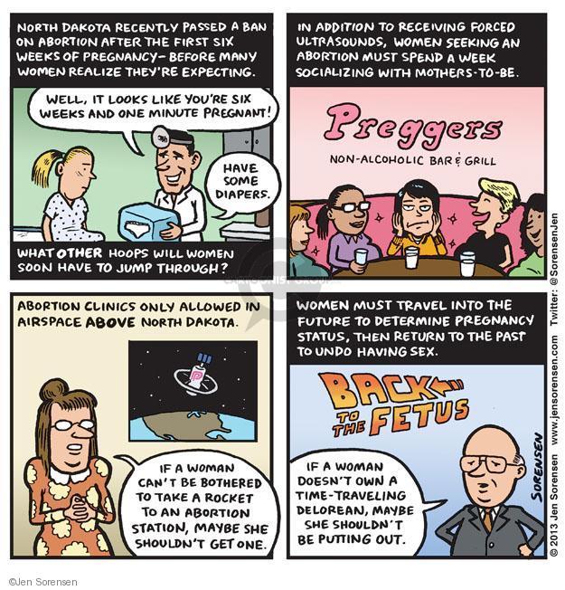 Jen Sorensen  Jen Sorensen's Editorial Cartoons 2013-03-25 pregnancy
