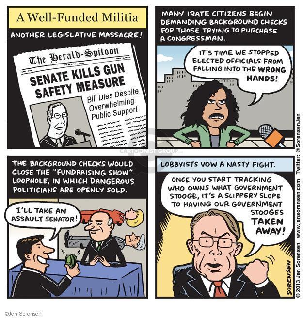 Jen Sorensen  Jen Sorensen's Editorial Cartoons 2013-04-21 Bill of Rights
