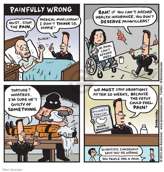 Cartoonist Jen Sorensen  Jen Sorensen's Editorial Cartoons 2013-06-24 women's issues