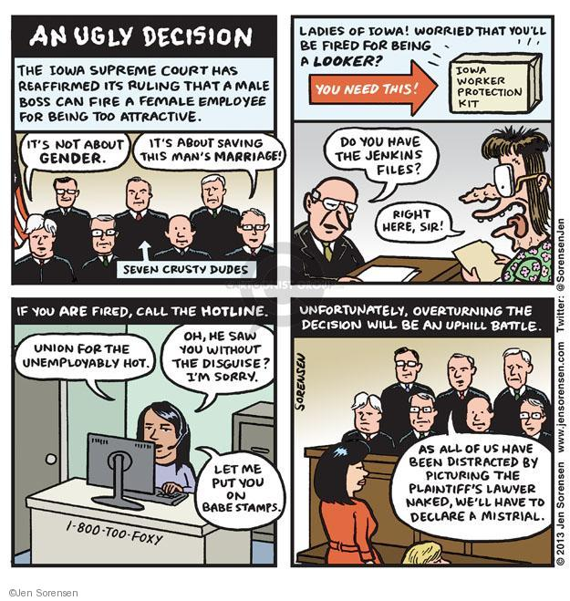 Jen Sorensen  Jen Sorensen's Editorial Cartoons 2013-07-15 employment