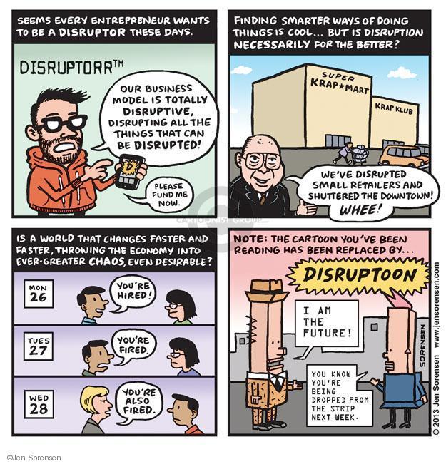 Cartoonist Jen Sorensen  Jen Sorensen's Editorial Cartoons 2013-08-19 economy