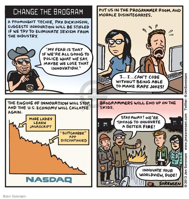 Cartoonist Jen Sorensen  Jen Sorensen's Editorial Cartoons 2013-09-16 women's issues