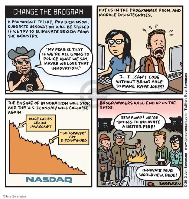Cartoonist Jen Sorensen  Jen Sorensen's Editorial Cartoons 2013-09-16 gender