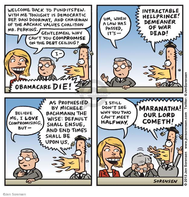 Cartoonist Jen Sorensen  Jen Sorensen's Editorial Cartoons 2013-10-14 partisan