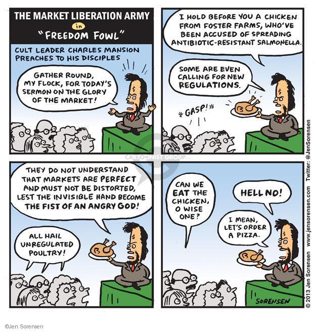 Jen Sorensen  Jen Sorensen's Editorial Cartoons 2013-10-28 leader