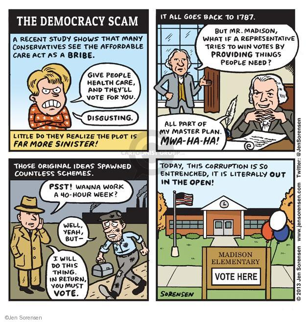 Cartoonist Jen Sorensen  Jen Sorensen's Editorial Cartoons 2013-11-04 constitutional convention