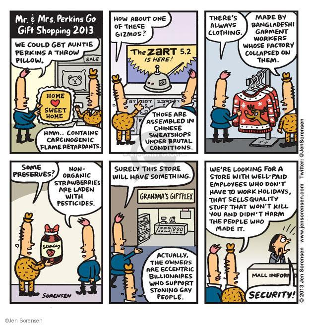 Cartoonist Jen Sorensen  Jen Sorensen's Editorial Cartoons 2013-12-09 home