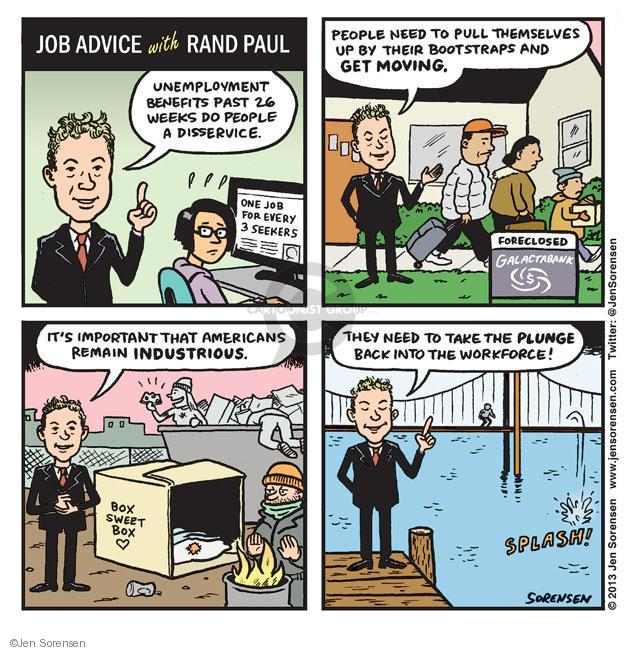 Jen Sorensen  Jen Sorensen's Editorial Cartoons 2013-12-30 employment