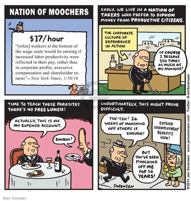 Cartoonist Jen Sorensen  Jen Sorensen's Editorial Cartoons 2014-01-13 profit