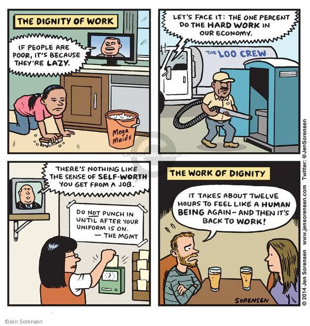 Jen Sorensen  Jen Sorensen's Editorial Cartoons 2014-02-17 employment