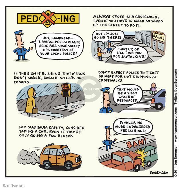 Cartoonist Jen Sorensen  Jen Sorensen's Editorial Cartoons 2014-02-24 laws
