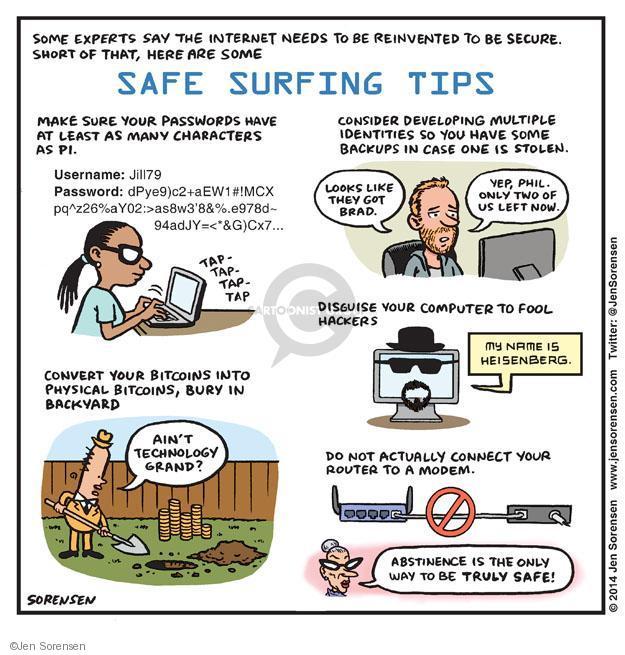 Jen Sorensen  Jen Sorensen's Editorial Cartoons 2014-05-05 name