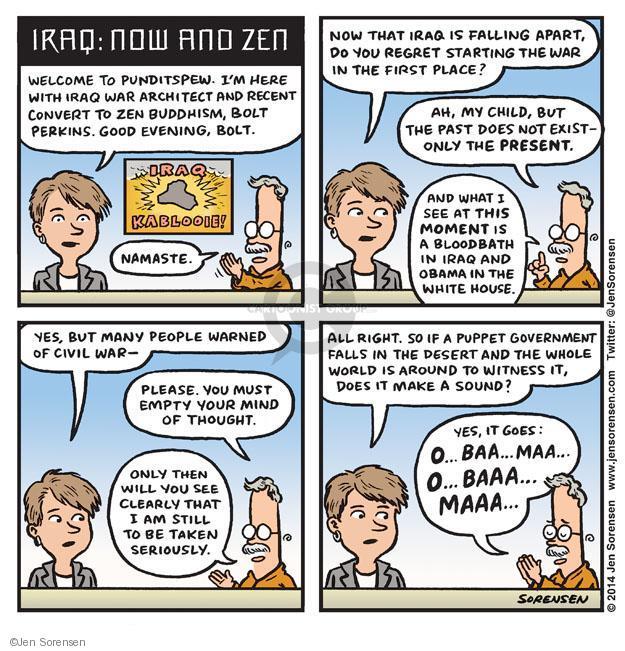Jen Sorensen  Jen Sorensen's Editorial Cartoons 2014-06-23 unrest