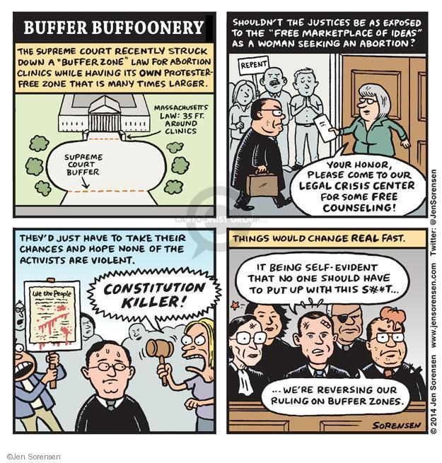 Cartoonist Jen Sorensen  Jen Sorensen's Editorial Cartoons 2014-06-30 Constitution