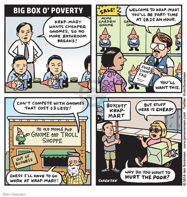 Jen Sorensen  Jen Sorensen's Editorial Cartoons 2014-07-14 employment