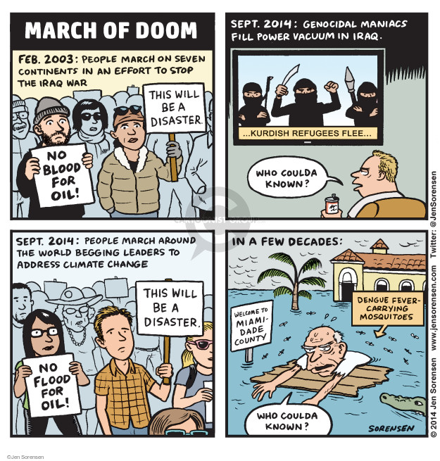 Jen Sorensen  Jen Sorensen's Editorial Cartoons 2014-09-29 environment