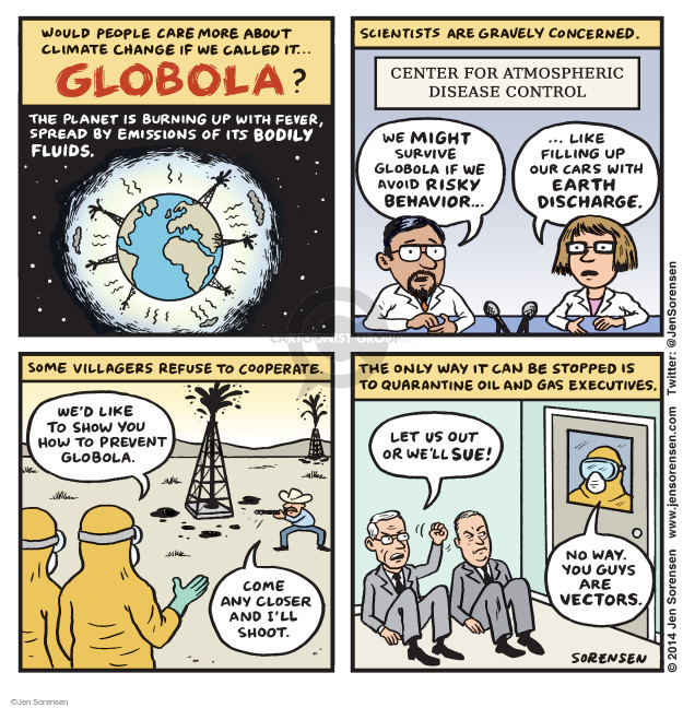 Cartoonist Jen Sorensen  Jen Sorensen's Editorial Cartoons 2014-10-20 fear