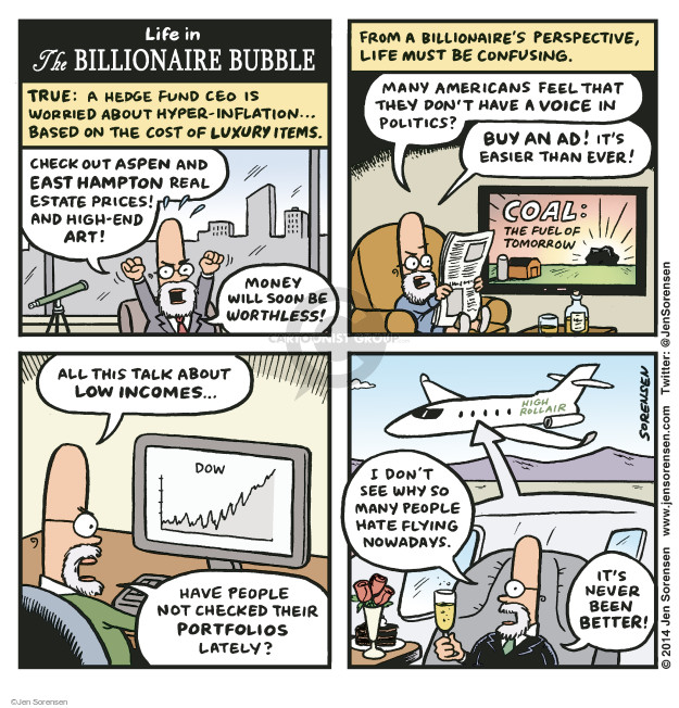 Jen Sorensen  Jen Sorensen's Editorial Cartoons 2014-11-17 stock market