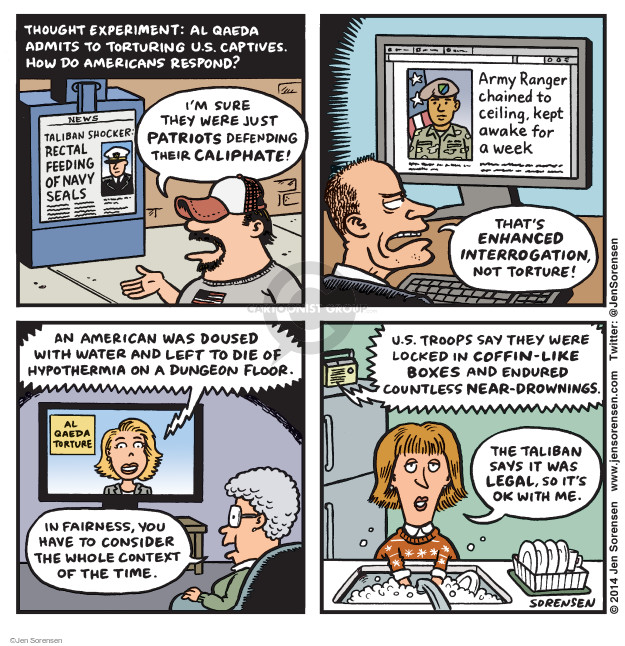 Jen Sorensen  Jen Sorensen's Editorial Cartoons 2014-12-15 left